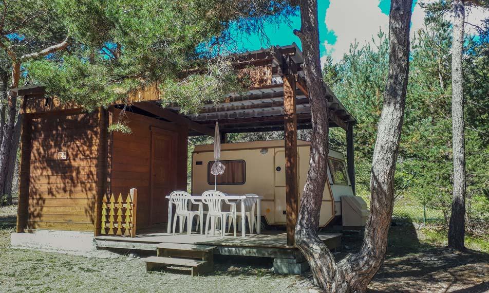 location caravane barcelonnette